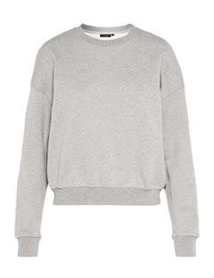 Womens Thea Sweatshirt Lt Grey Mel