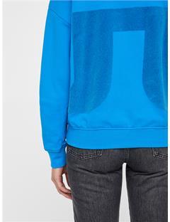 Womens Thea Sweatshirt Wonder Blue