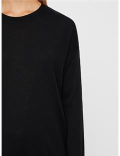 Womens Kerli Perfect Merino Sweater Black