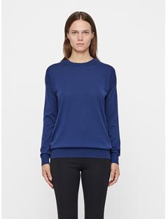 Womens Kerli Perfect Merino Sweater JL Navy