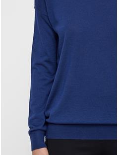 Womens Kerli Perfect Merino Sweater JL Navy