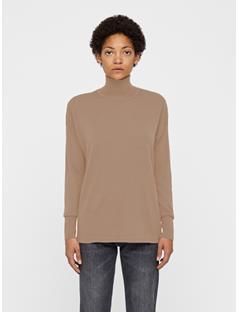 Womens Dolci Perfect Merino Sweater Burro