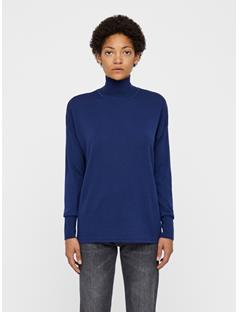 Womens Dolci Perfect Merino Sweater JL Navy