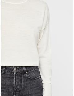 Womens Dolci Perfect Merino Sweater Off White