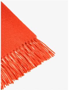Womens Frame Wool Scarf Molten Lava