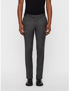 Mens Grant Wool Stretch Pants Dk Grey