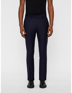 Mens Grant Wool Stretch Pants JL Navy
