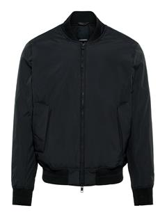 Mens Lou Clean 2-Layer Bomber Jacket Black