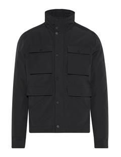 Mens Beat Textured Cony Jacket Black