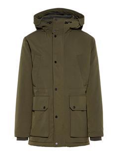Mens Aron Mech Stretch Coat Dark Green