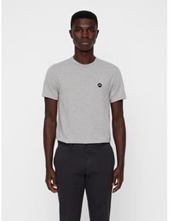 Mens Bridge Jersey T-shirt Lt Grey Melange