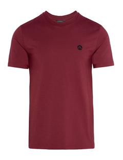 Mens Bridge Jersey T-shirt Zinfandel