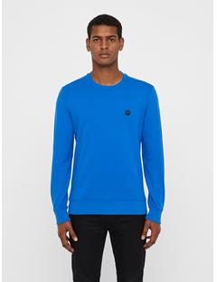 Mens Throw Ring Loop Sweatshirt Pop Blue
