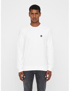 Mens Throw Ring Loop Sweatshirt White