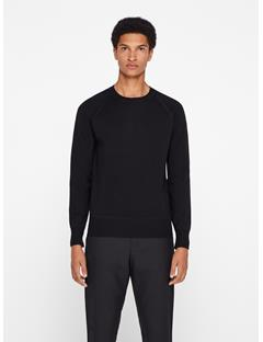 Mens Rino Full Milano Sweater Black