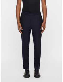 Mens Sasha Drawstring Flannel Pants JL Navy