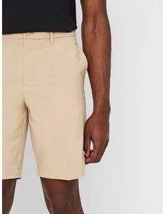Mens Eloy Tapered Micro Stretch Shorts Safari Beige
