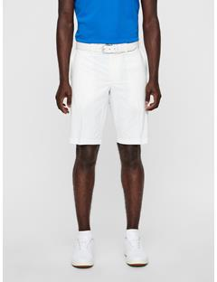 Mens Somle Tapered Light Poly Shorts White