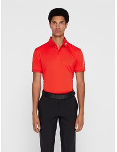 Mens Tour Tech TX Jersey Polo - Regular Fit Racing Red