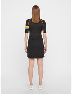 Womens Amelie TX Jersey Long Skirt Black