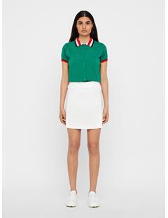 Womens Amelie TX Jersey Long Skirt White