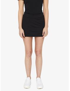 Womens Amelie TX Jersey Mini Skirt Black