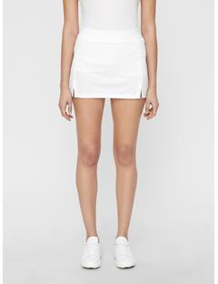 Womens Amelie TX Jersey Mini Skirt White
