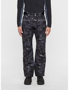 Mens Truuli 2-Ply Pants Black Sports Camo