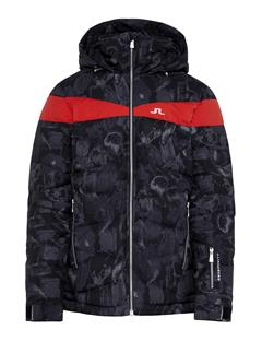 Mens Crillon 2-Ply Down Jacket Black Sports Camo
