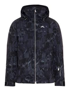 Mens Truuli 2-Ply Jacket Black Sports Camo