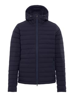 Mens Ease Down Hooded Liner Jacket JL Navy