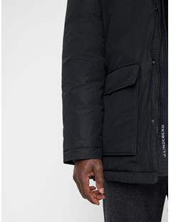 Mens Radiator Parka Black
