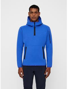 Mens Logo Tech Sweat Hoodie Daz Blue