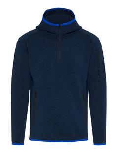 Mens Logo Tech Sweat Hoodie JL Navy