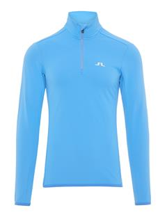 Mens Kimball Fieldsensor Half Zip Mid-Layer Silent blue