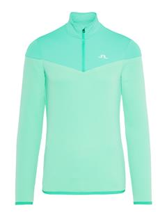Mens Hubbard Quarter-Zip Mid-Jacket Fresh Green