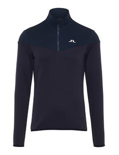 Mens Hubbard Quarter-Zip Mid-Jacket JL Navy