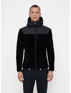 Mens Wilton Tech Fleece Hoodie Black