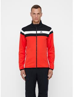 Mens Moffit Tech Jersey Mid-Jacket Racing Red