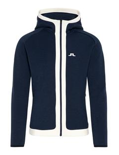 Mens Moffit Tech Sweat Hoodie JL Navy