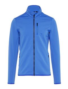 Mens Truuli Tech Jersey Mid-Jacket Daz Blue