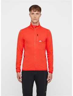 Mens Truuli Tech Jersey Mid-Jacket Racing Red