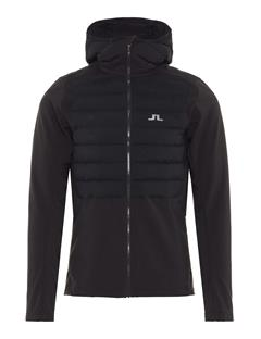 Mens Vertex Hooded Jacket Black