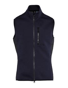Mens Lugar Tech Jersey Vest JL Navy