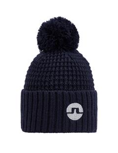 Mens Ball Beanie JL Navy