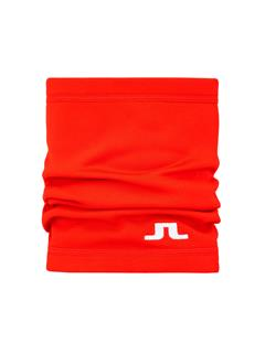 Mens Neck Gaiter Racing Red