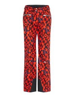 Womens Truuli 2-Ply Pants Red Sports Camo
