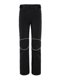 Womens Stanford Striped Soft Shell Pants Black/White