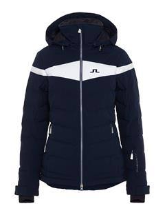 Womens Crillon 2-Ply Down Jacket JL Navy
