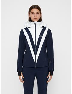 Womens Wrangell Dermizax EV Jacket JL Navy